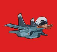 Cartoon Jetbird Kids Tee