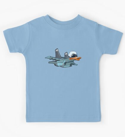 Cartoon Jetbird Kids Tee