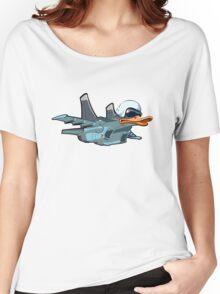 Cartoon Jetbird Women's Relaxed Fit T-Shirt