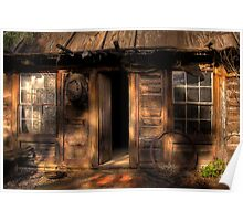 Ned Kelly Home - the hut Poster