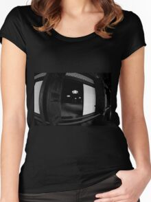 Autumn in Japan:  The Meditation Location Women's Fitted Scoop T-Shirt