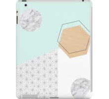 Geometrical materials iPad Case/Skin