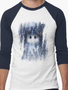 smiley denim Men's Baseball ¾ T-Shirt