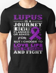 LUPUS IS A JOURNEY - FIGHTING LUPUS DISEASE T-Shirt T-Shirt