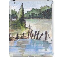 The fishing spot iPad Case/Skin
