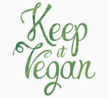 Keep it Vegan 02 - Happy quote Kids Tee