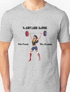 Warrior Mode (Dress Blues) Unisex T-Shirt
