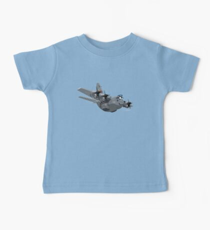 Cartoon Military Cargo Plane Baby Tee