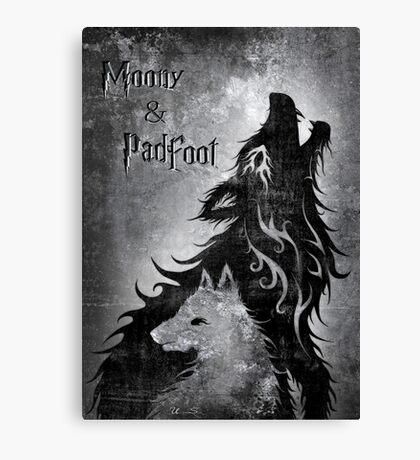 Moony & Padfoot Canvas Print