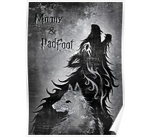 Moony & Padfoot Poster