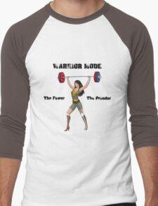 Warrior Mode (Silkies) Men's Baseball ¾ T-Shirt