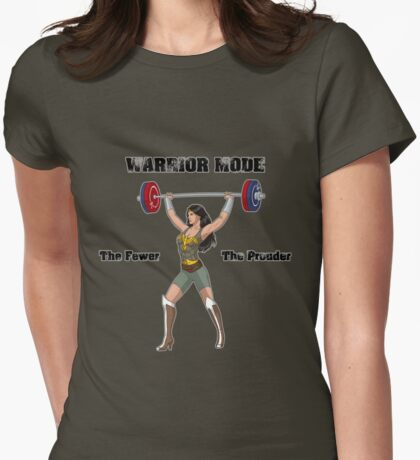 Warrior Mode (Silkies) Womens Fitted T-Shirt