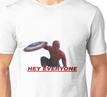 Hey Everyone - Spider-Man Unisex T-Shirt