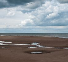 Big Skies and Beautiful Beaches 1 - Brancaster, Norfolk by Margaret Chilinski