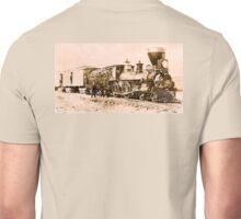 AMERICAN, STEAM, TRAIN, Central Pacific, Railroad, LOCOMOTIVE, IRON HORSE Unisex T-Shirt