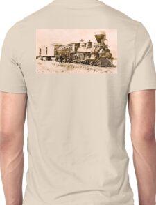 STEAM, TRAIN, Central Pacific, Railroad, American, America, Locomotive, Iron Horse Unisex T-Shirt