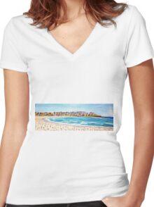 Bondi Cool Women's Fitted V-Neck T-Shirt