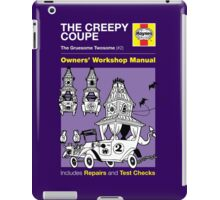 Haynes Manual - The Creepy Coupe - T-shirt iPad Case/Skin