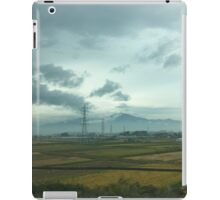 JAPAN VIEW FROM TRAIN iPad Case/Skin