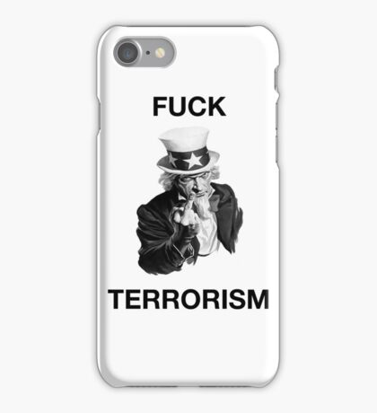 F Terrorism iPhone Case/Skin