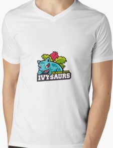 Celadon City Ivtysaurs Mens V-Neck T-Shirt