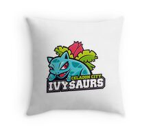 Celadon City Ivtysaurs Throw Pillow