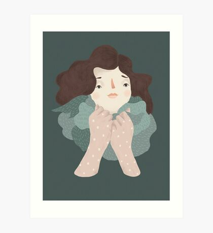 Windy / by Frau Isa / For SPOT THE DOT Art Print