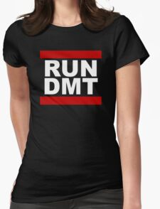 RUN DMT Womens Fitted T-Shirt