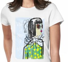 smart girl Womens Fitted T-Shirt