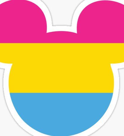 Pansexual Pride Mickey Sticker