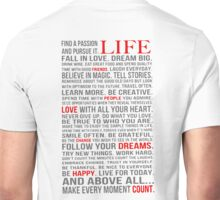 All about life Unisex T-Shirt