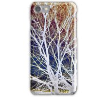 Wintry Mix - Colorful Sky & Shocking White Branches iPhone Case/Skin