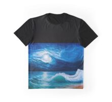 Moonlight sea landscape Graphic T-Shirt