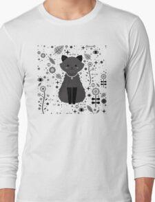Kitten Fang Long Sleeve T-Shirt