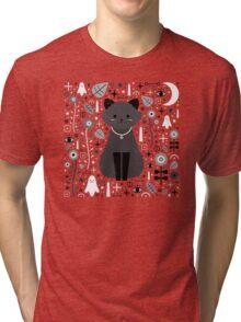 Kitten Fang Tri-blend T-Shirt
