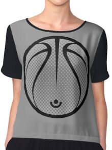 Vector Basketball Chiffon Top
