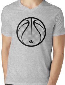 Vector Basketball Mens V-Neck T-Shirt