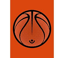 Vector Basketball Photographic Print