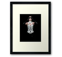 Sarah - Into the dark Framed Print