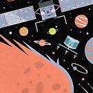 Comet Landers by CarlyWatts