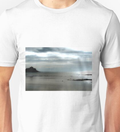 St Michaels Mount Cornwall  Unisex T-Shirt