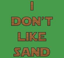 I don't like sand - version 2 Kids Tee