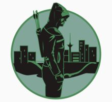 Green Arrow Baby Tee