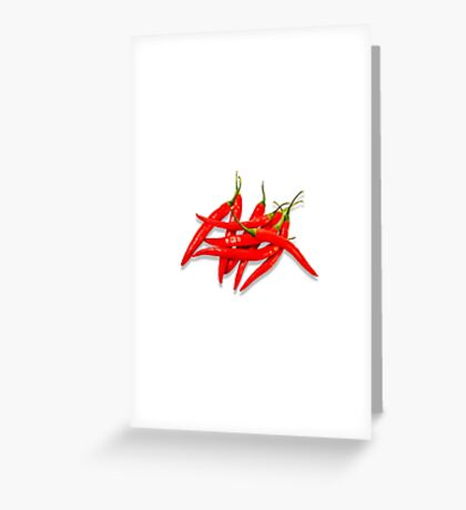 Spicy Greeting Card