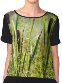 Cattails Chiffon Top