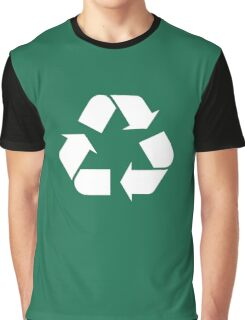 Recycle Go Green Graphic T-Shirt