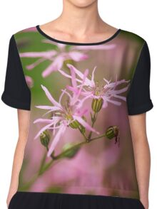 Ragged Robin Wildflowers Chiffon Top