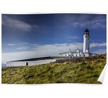 Mull of Galloway Lighthouse and Walled Garden Photograph Dumfries and Galloway Poster