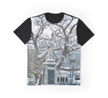 War Memorial and Catalpa Tree - St James Square - Monmouth 1 Graphic T-Shirt