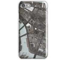 Abstract Map of Lower Manhattan iPhone Case/Skin